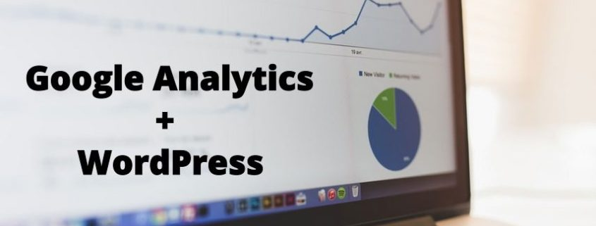 Google Analytics WordPress Cover Image
