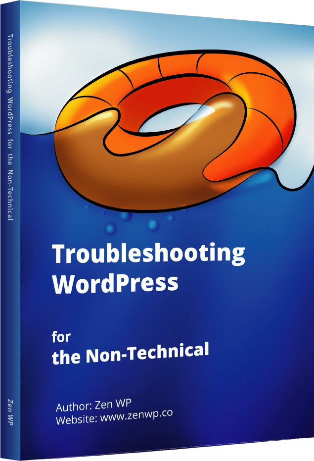 Troubleshooting WordPress EBook